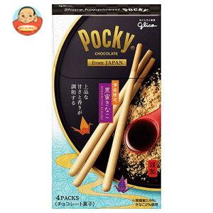 グリコ ポッキー from JAPAN 黒蜜きなこ 4袋×6箱入