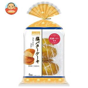 送料無料 【2ケースセット】丸中製菓 塩バターケーキ 5個×6袋入×(2ケース) ※北海道・沖縄は別途送料が必要。