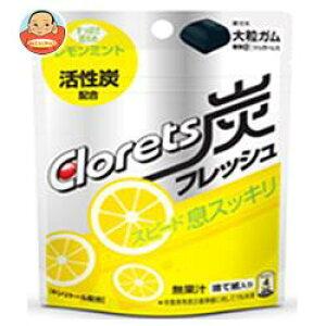 クロレッツ 炭フレッシュ レモンミント パウチ 6個