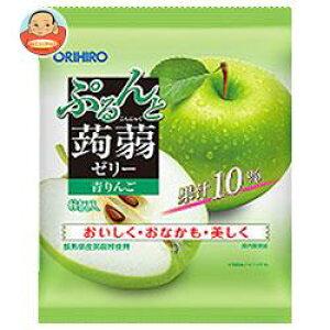 送料無料 【2ケースセット】オリヒロ ぷるんと蒟蒻ゼリー 青りんご 20gパウチ×6個×24袋入×(2ケース) ※北海道・沖縄は別途送料が必要。