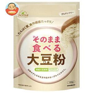 送料無料 マルコメ ダイズラボ そのまま食べる大豆粉 100g×40(10×4)袋入 ※北海道・沖縄は別途送料が必要。