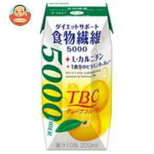TBC 食物繊維 グレープフルーツ 200ml×24本 紙パック