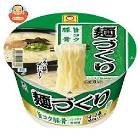 【賞味期限間近19.7.30】東洋水産 マルちゃん 麺づくり 旨コク豚骨 87g×12個入