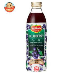 デルモンテ ブルーベリー20%750ml瓶×12(6×2)本入