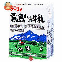 南日本酪農協同 デーリィ 霧島山麓牛乳 200ml紙パック×24本入
