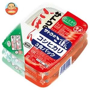 送料無料 【2ケースセット】サトウ食品 サトウのごはん コシヒカリ 3食パック (200g×3食)×12個入×(2ケース) ※北海道・沖縄は別途送料が必要。