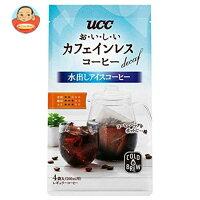 UCC おいしいカフェインレスコーヒー コーヒーバッグ 水出しアイスコーヒー (35gtimes;4P)times;12(6times;2)袋入