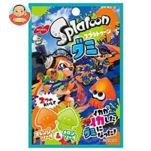 送料無料 ノーベル製菓 スプラトゥーングミ オレンジソーダ&メロンソーダ 45g×6袋入 ※北海道・沖縄は別途送料が必要。