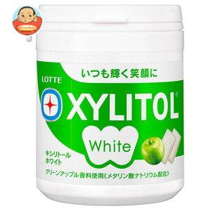 送料無料 ロッテ キシリトールホワイト グリーンアップル ファミリーボトル 143g×6個入 ※北海道・沖縄は別途送料が必要。