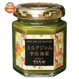 送料無料 ちきりや ミルクジャム 宇治抹茶 110g×12個入 ※北海道・沖縄は別途送料が必要。
