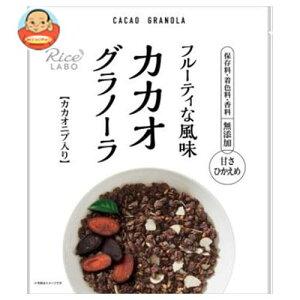 送料無料 幸福米穀 カカオグラノーラ 200g×15袋入 ※北海道・沖縄は別途送料が必要。
