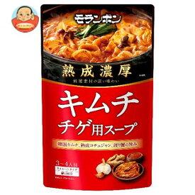 送料無料 モランボン 熟成濃厚 キムチチゲ用スープ 750g×10袋入 ※北海道・沖縄は別途送料が必要。