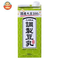 ふくれん 国産大豆100% 調製豆乳 1000ml紙パックtimes;12(6times;2)本入