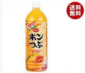 送料無料 えひめ飲料 POM(ポン) ポンつぶ 1000mlペットボトル×12(6×2)本入 ※北海道・沖縄・離島は別途送料が必要。
