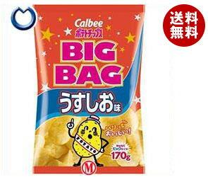 【送料無料】カルビー BIG BAG ポテトチップス うすしお味 170g×12個入 ※北海道・沖縄・離島は別途送料が必要。