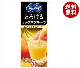 【送料無料】アサヒ飲料 バヤリース とろけるミックスフルーツ 250ml紙パック×24本入 ※北海道・沖縄・離島は別途送料が必要。