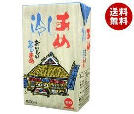 送料無料 毎日牛乳 毎日冷しあめ 1000ml紙パック×12(6×2)本入 ※北海道・沖縄・離島は別途送料が必要。