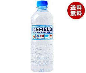 【送料無料】NGWジャパン ICEFIELD(アイスフィールド) 500mlペットボトル×24本入 ※北海道・沖縄・離島は別途送料が必要。