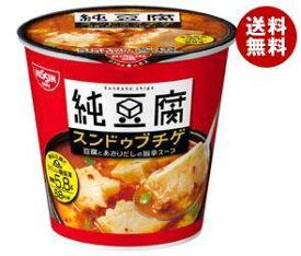 送料無料 日清食品 純豆腐 スンドゥブチゲスープ 17g×12(6×2)個入 ※北海道・沖縄・離島は別途送料が必要。