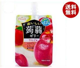 【送料無料】【2ケースセット】たらみ おいしい蒟蒻ゼリー りんご味 150gパウチ×30本入×(2ケース) ※北海道・沖縄・離島は別途送料が必要。