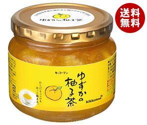 【送料無料】【2ケースセット】キッコーマン ゆずかの柚子茶 580g瓶×12本入×(2ケース) ※北海道・沖縄・離島は別途送料が必要。