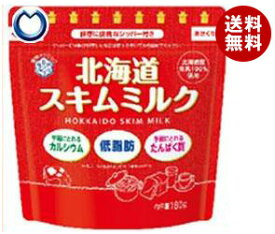 【送料無料】雪印メグミルク 北海道スキムミルク 180g×12袋入 ※北海道・沖縄・離島は別途送料が必要。