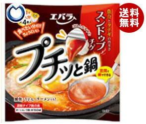 【送料無料】エバラ食品 プチッと鍋 スンドゥブチゲ 40g×4個×12袋入 ※北海道・沖縄・離島は別途送料が必要。