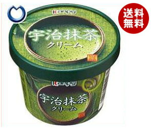 【送料無料】カンピー 紙カップ 宇治抹茶クリーム 140g×6個入 ※北海道・沖縄・離島は別途送料が必要。