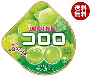 送料無料 UHA味覚糖 コロロ マスカット 48g×6袋入 ※北海道・沖縄・離島は別途送料が必要。