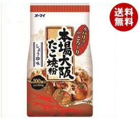 送料無料 日本製粉 オーマイ 本場大阪たこ焼粉 500g×8袋入 ※北海道・沖縄・離島は別途送料が必要。