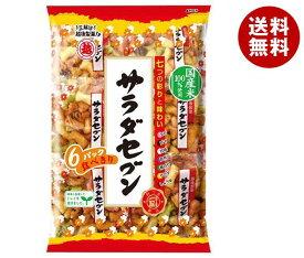 送料無料 越後製菓 サラダセブン 135g(22.5g×6)×12袋入 ※北海道・沖縄・離島は別途送料が必要。