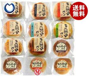 送料無料 【2ケースセット】天然酵母パン 12個セット×(2ケース) ※北海道・沖縄・離島は別途送料が必要。