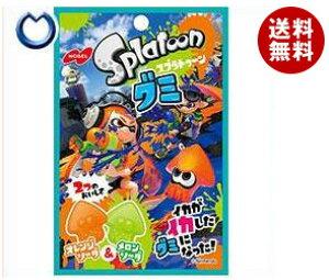 送料無料 ノーベル製菓 スプラトゥーングミ オレンジソーダ&メロンソーダ 45g×6袋入 ※北海道・沖縄・離島は別途送料が必要。
