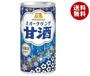 【送料無料】【2ケースセット】森永製菓 スパークリング甘酒 190ml缶×30本入×(2ケース) ※北海道・沖縄・離島は別途送料が必要。