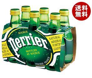 【送料無料】サントリー ペリエ (6本パック) 200ml瓶×24(6×4)本入 ※北海道・沖縄・離島は別途送料が必要。
