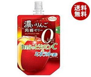 【送料無料】たらみ 濃いりんご0kcal蒟蒻ゼリー 150gパウチ×30本入 ※北海道・沖縄・離島は別途送料が必要。