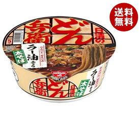 送料無料 日清食品 日清の汁なしどん兵衛 ラー油香るラーそば 84g×12個入 ※北海道・沖縄・離島は別途送料が必要。