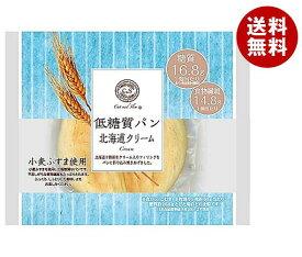 送料無料 ピアンタ Cut and Slim (カットアンドスリム) 低糖質パン 北海道クリーム 12個入 ※北海道・沖縄・離島は別途送料が必要。