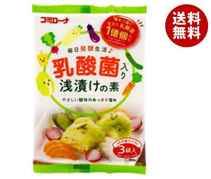 送料無料 コーセーフーズ 乳酸菌入り 浅漬けの素 60g×10袋入 ※北海道・沖縄・離島は別途送料が必要。