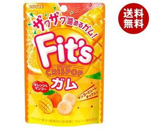 送料無料 【2ケースセット】ロッテ Fit's Crispop(クリスポップ) オレンジ&マンゴー 27g×10個入×(2ケース) ※北海道・沖縄・離島は別途送料が必要。