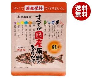 送料無料 【2ケースセット】日本海水 浦島海苔 すべてが国産原料のふりかけ 鮭 28g×10袋入×(2ケース) ※北海道・沖縄・離島は別途送料が必要。