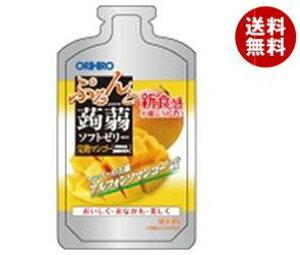 送料無料 オリヒロ ぷるんと蒟蒻ゼリー 完熟マンゴー 100gパウチショット×36個入 ※北海道・沖縄・離島は別途送料が必要。