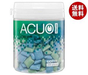 送料無料 ロッテ ACUO(アクオ) mini クリアミントミックス ファミリーボトル 140g×6個入 ※北海道・沖縄・離島は別途送料が必要。