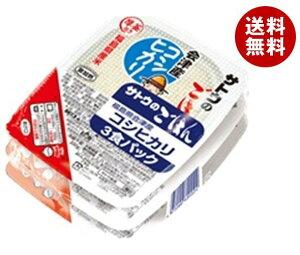 送料無料 【2ケースセット】サトウ食品 サトウのごはん 福島県会津産コシヒカリ 3食パック (200g×3食)×12個入×(2ケース) ※北海道・沖縄・離島は別途送料が必要。