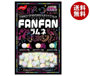 送料無料 ノーベル製菓 FANFAN(ファンファン)ラムネ 40g×6袋入 ※北海道・沖縄・離島は別途送料が必要。