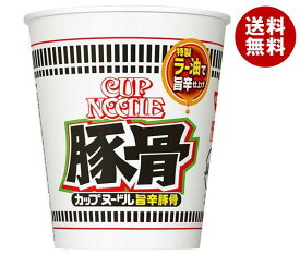 送料無料 日清食品 カップヌードル 旨辛豚骨 82g×20個入 ※北海道・沖縄・離島は別途送料が必要。
