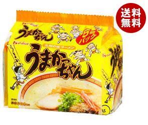 【送料無料】ハウス食品 九州の味ラーメン うまかっちゃん 5食パック×6個入 ※北海道・沖縄・離島は別途送料が必要。