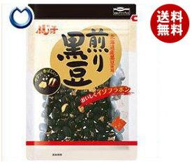【送料無料】【2ケースセット】フジッコ 煎り黒豆 57g×10袋入×(2ケース) ※北海道・沖縄・離島は別途送料が必要。