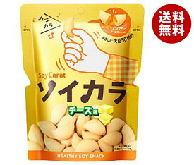 送料無料 大塚製薬 ソイカラ(SoyCarat) チーズ味 27g×18袋入 ※北海道・沖縄・離島は別途送料が必要。