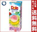 【送料無料】Dole(ドール) ピーチフルーツミックス 200ml紙パック×18本入 ※北海道・沖縄・離島は別途送料が必要。